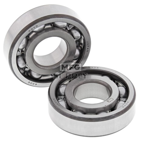 24-1048 Aftermarket Crankshaft Bearing Kit for Various 1973-1988 Honda & Kawasaki 90, 110, 125 160, and 185 Model ATV's and 3 Wheelers