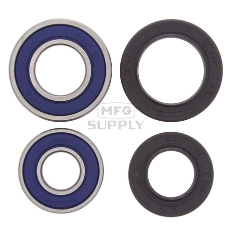 25-1035 - Front Wheel Bearing Kit with Seals for Arctic Cat DVX, Honda TRX 250/300/300EX/400EX & Kawasaki ATV