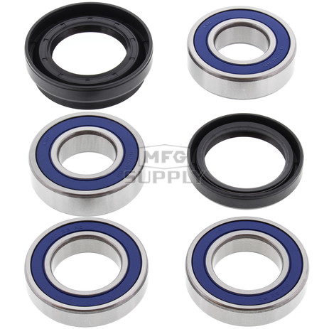 25-1036 - Honda Rear Wheel Bearing Kit with Seals. Fits many ATC250ES/SX, TRX250/350/350D ATVs