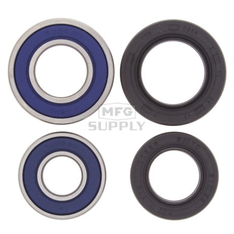 25-1044 Yamaha Aftermarket Front Wheel Bearing & Seal Kit for Many 87-18 models ATVs