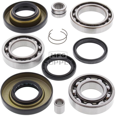 25-2012 Honda Aftermarket Rear Differential Bearing & Seal Kit for 2000-2007 TRX350 & TRX400 Rancher ATV Model's
