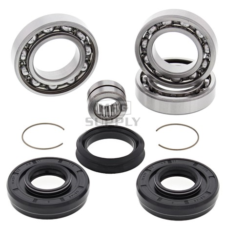 25-2046 Honda Aftermarket Front Differential Bearing & Seal Kit for 2004-2004 TRX400FA/FGA Fourtrax Rancher 4x4 ATV Model's