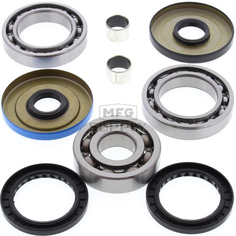 25-2057 Polaris Aftermarket Rear Differential Bearing & Seal Kit for Various 2003-2008 330, 500, 600, 700, and 800 ATV Model's