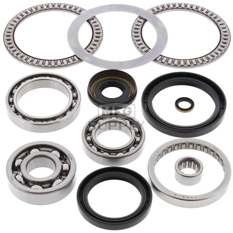 25-2066 Aftermarket Front Differential Bearing & Seal Kit for Various 2003-2014 Kawasaki 360, 650, 700, 750 and 2004-2005 Suzuki LTV-700F ATV Model's