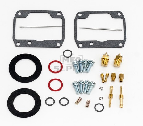 26-10113 Ski-Doo Aftermarket Carburetor Rebuild Kit for 2002 & 2003 Skandic 600 SUV/WT Model Snowmobiles