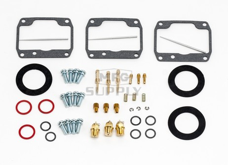 26-10117 Ski-Doo Aftermarket Carburetor Rebuild Kit for 2000 Formula III 700 & Grand Touring 700 Model Snowmobiles