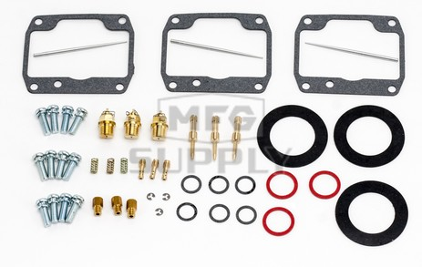 26-10120 Ski-Doo Aftermarket Carburetor Rebuild Kit for 1998 Mach 1 Model Snowmobiles