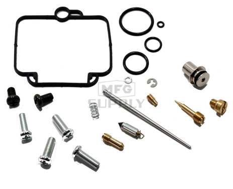 Complete ATV Carburetor Rebuild Kit for 97-09 Polaris Scramber 2x4/4x4