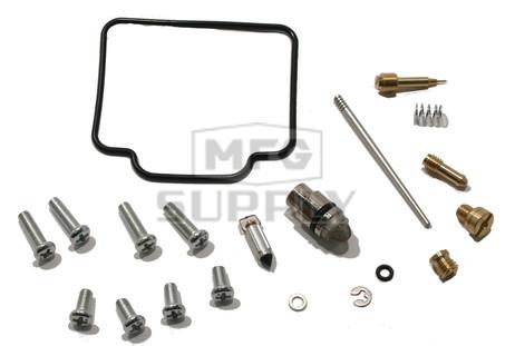 Complete ATV Carburetor Rebuild Kit for many 00-02 Polaris ATVs with 325cc engines