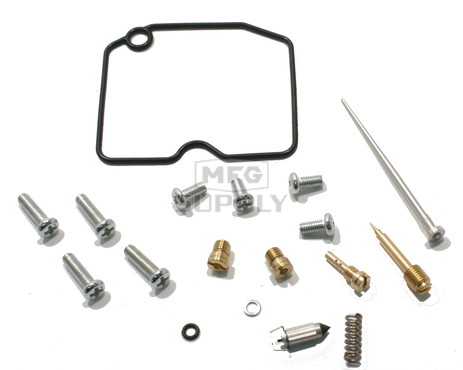 Complete ATV Carburetor Rebuild Kit for 10-12 Arctic Cat 650 H1 / 650i
