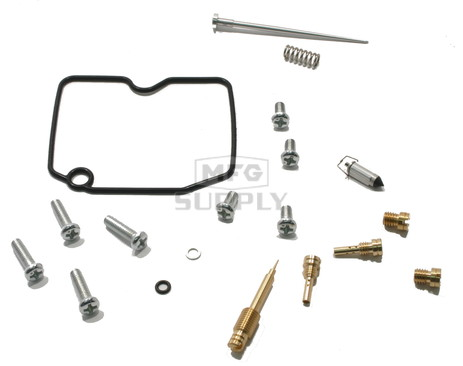 Complete ATV Carburetor Rebuild Kit for 09-11 Arctic Cat 366 FIS Auto