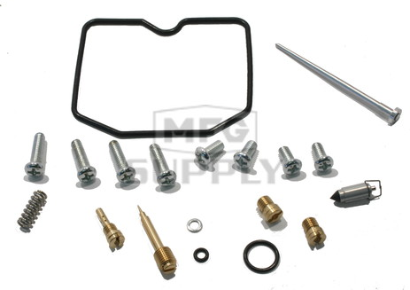 Complete ATV Carburetor Rebuild Kit for 02-05 Arctic Cat 250 2x4 / 4x4 ATVs