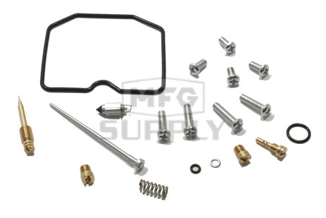 Complete ATV Carburetor Rebuild Kit for 02-05 Suzuki LT-A500F Vinson