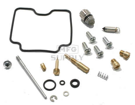 Complete ATV Carburetor Rebuild Kit for 00-01 LTF250, 00-02 LTF250F