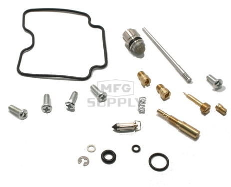 Complete ATV Carburetor Rebuild Kit for 00-02 Suzuki LT-F300F King Quad ATV