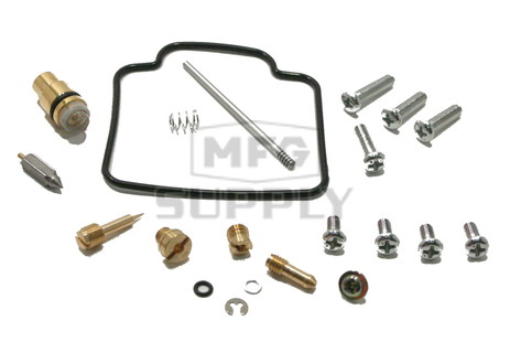 Complete ATV Carburetor Rebuild Kit for 91-99 Suzuki LT-F4WDX and LT-F300F King Quad ATVs