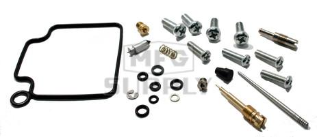 Complete ATV Carburetor Rebuild Kit for 00-03 Honda TRX350 FE / FM / TE / TM ATVs