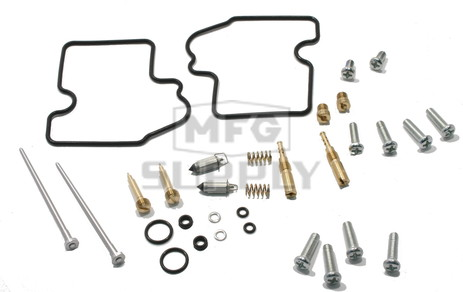 Complete ATV Carburetor Rebuild Kit for 05-07 Kawasaki KVF750 Brute Force ATV