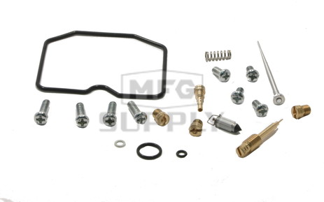 Complete ATV Carburetor Rebuild Kit for 03-13 Kawsaki KVF360 Prairie ATVs