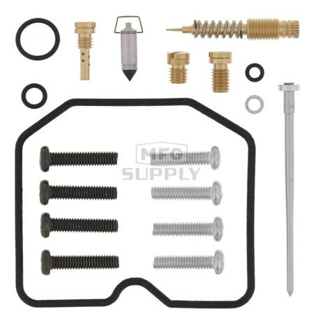 Complete ATV Carburetor Rebuild Kit for 89-02 Kawasaki KSF250 Mojave ATV