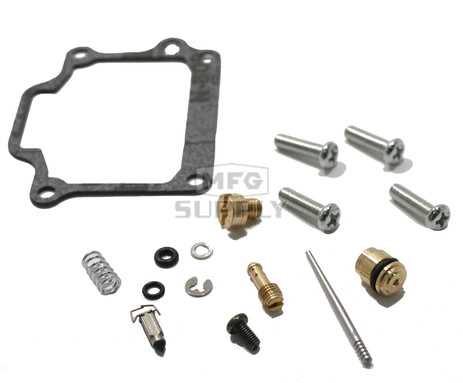 Complete ATV Carburetor Rebuild Kit for 03-06 Kawasaki KFX80