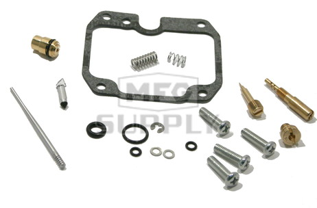 Complete ATV Carburetor Rebuild Kit for 90-99 Kawasaki KLF220 Bayou ATV