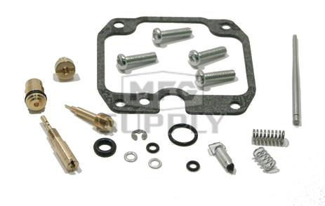 Complete ATV Carburetor Rebuild Kit for 03-06 Kawasaki KLF250 Bayou ATV