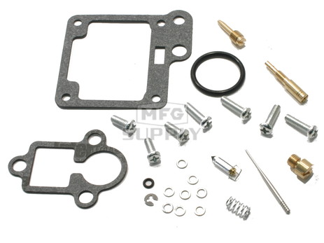Complete ATV Carburetor Rebuild Kit for 89-91 Yamaha YFM100, 92-01 YFM80 Badger
