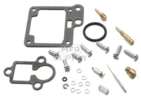 Complete ATV Carburetor Rebuild Kit for 89-91 Yamaha YFM100, 92-01 YFM80 Badger