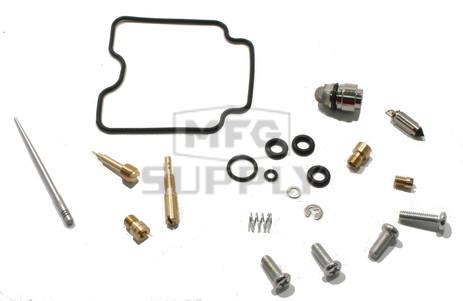 Complete ATV Carburetor Rebuild Kit for 04-06 Yamaha YFM350 Bruin & 07-11 YFM350 Grizzly IRS