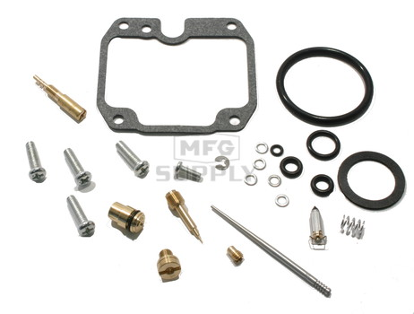 Complete ATV Carburetor Rebuild Kit for 89-00 Yamaha YFB250/FW Timberwolf & YFM250 Moto-4 ATVs