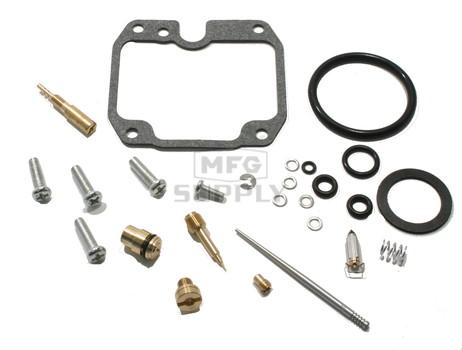 Complete ATV Carburetor Rebuild Kit for 89-00 Yamaha YFB250/FW Timberwolf & YFM250 Moto-4 ATVs