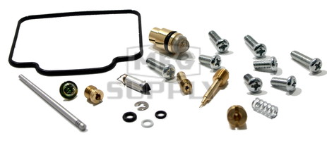 Complete ATV Carburetor Rebuild Kit for 99-04 Yamaha YFM250 Beartracker ATV
