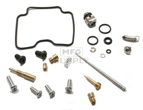Complete ATV Carburetor Rebuild Kit for 12-13 Yamaha YFZ450 ATV