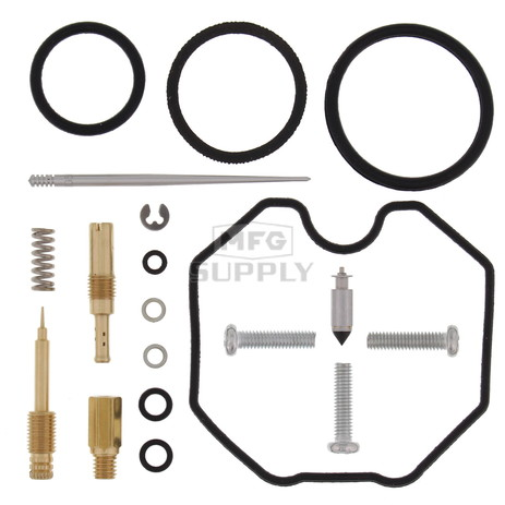 Complete ATV Carburetor Rebuild Kit for 86-87 Honda ATC200X