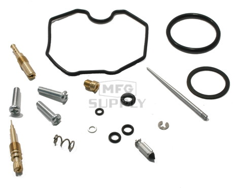 Complete ATV Carburetor Rebuild Kit for 99-04 Honda TRX250 / TE/ TM Recon & 01-05 TRX250X / EX Sportrax