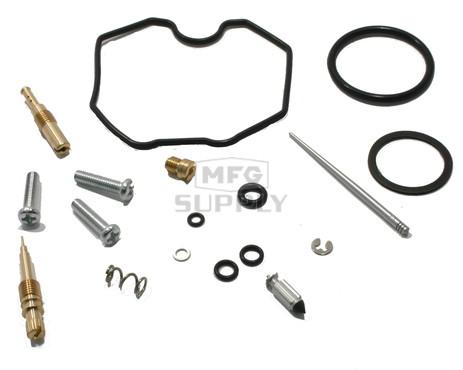 Complete ATV Carburetor Rebuild Kit for 99-04 Honda TRX250 / TE/ TM Recon & 01-05 TRX250X / EX Sportrax