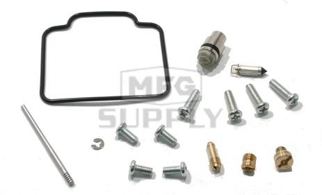 26-1336 - Complete ATV Carburetor Rebuild Kit for 02-09 Polaris Ranger 500 2x4 / 4x4 / 6x6