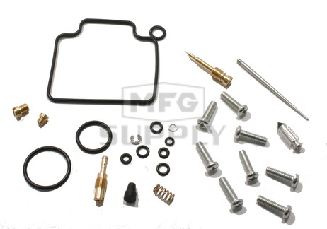 Complete ATV Carburetor Rebuild Kit for 04-07 Honda TRX400FA/TRX400FGA Fourtrax Rancher