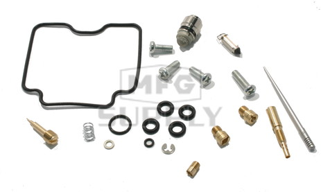 Complete ATV Carburetor Rebuild Kit for many Yamaha ATVs with 450cc engine