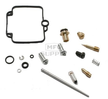 Complete ATV Carburetor Rebuild Kit for 98-00 Yamaha YFM600 Grizzly ATV