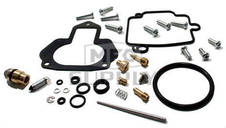 Complete ATV Carburetor Rebuild Kit for 87-96 Yamaha YFM350FW Big Bear, 96-98 YFM350U Big Bear