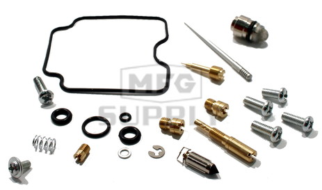 Complete ATV Carburetor Rebuild Kit for 07-08 Yamaha YFM400 Grizzly IRS