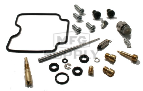 Complete ATV Carburetor Rebuild Kit for 02-08 Yamaha YFM660 Grizzly ATVs (1003-0099)