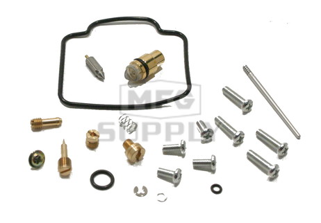 Complete ATV Carburetor Rebuild Kit for 99 Suzuki LT-F250F Quad Runner 4x4