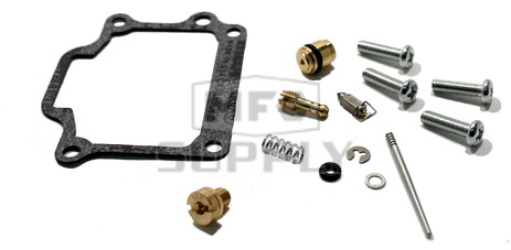 Complete Carb Rebuild Kit for 87-06 Suzuki LT-80 Quad Sport