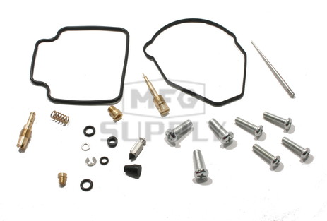 Complete ATV Carburetor Rebuild Kit for 86-87 Honda TRX250 Fourtrax ATV