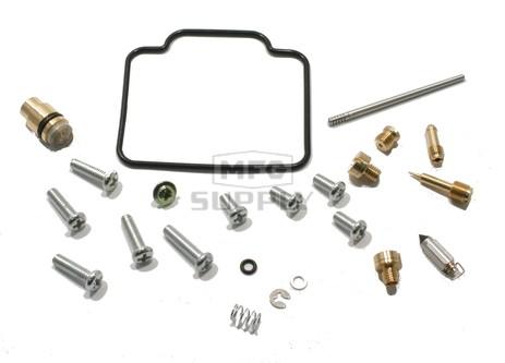 Complete ATV Carburetor Rebuild Kit for 96-98 Arctic Cat 454 2x4/4x4, 98-99 500 4x4