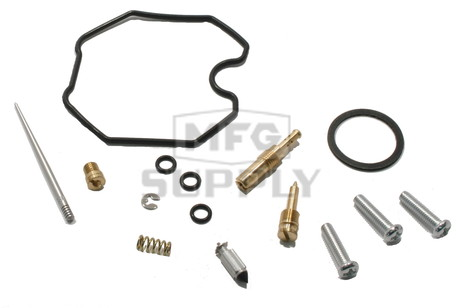Complete ATV Carburetor Rebuild Kit for 90-91 Honda TRX200 & TRX200D ATVs
