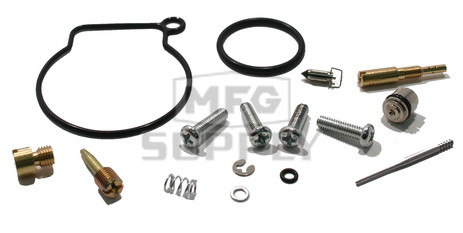 Complete ATV Carburetor Rebuild Kit for 08-newer Polaris Outlaw 50, 07 Predator 50